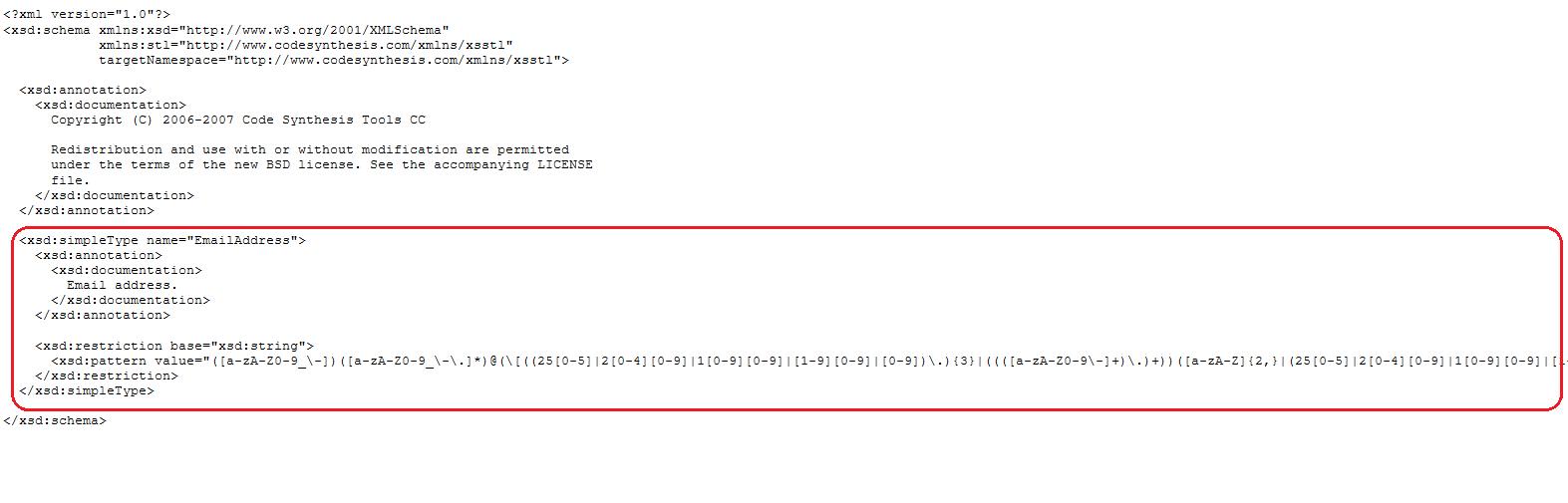 codesynthesis xsd api Xml data binding - part 3: codesynthesis xsd example codesynthesis xsd windows api (1) wireshark (3) wsdl (1.