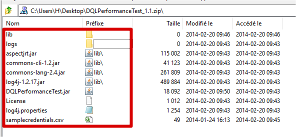 Documentum : DQL performance testing tool DQLPerformanceTest